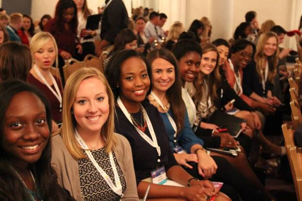 PRSSA at LSU members at National Conference